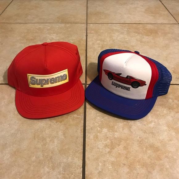 973566aa12d Supreme Bling Box Logo   Ferrari GT Hat Bundle. M 5bffd3ef5c4452f109497b7f